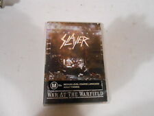 SLAYER-WAR AT THE WARFIELD-19 TRACK DVD-EU IMPORT-2003-ALL REGIONS-NTSC