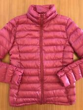 Uniqlo Deep Pink Puffer Ultra Light Down Jacket XS Extra Small