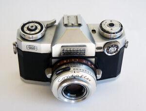 Vintage Zeiss Ikon Contaflex 35mm Camera with Carl Zeiss Tessar Lens