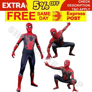 Avengers Infinity War Kids/Adults Iron Spiderman Cosplay Deadpool Costume AU