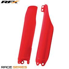 RFX Plastic Fork Guards Honda CRF 250X 2004 2005 2006 2007 2008 2009 2010 Red