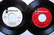 JERICHO BROWNE Lot of 2 45's  MERCURY label (#1301)