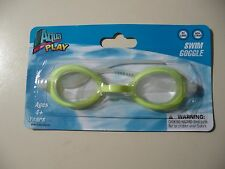 Aqua Play: Swim Goggles (Yellow) for ages 4+, Brand New & Sealed