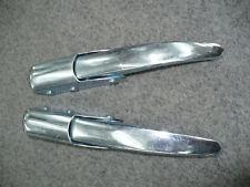 Datsun 1200 Ute Tailgate Handle Silver (Pair)