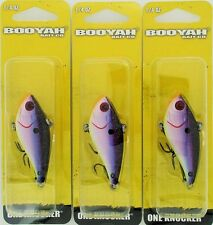 (3) Booyah Bait Company 1/4 Oz One Knocker Crankbaits Royalty BYHKK1404