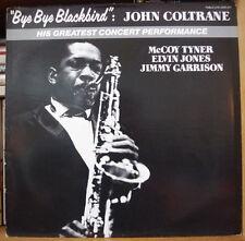 """JOHN COLTRANE """"BYE BYE BLACKBIRD"""" FRENCH LP PABLO LIVE 1981"""