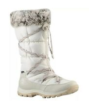 TIMBERLAND 2161R CHILLBERG WOMEN'S WHITE WATERPROOF WINTER BOOTS SIZE 8M