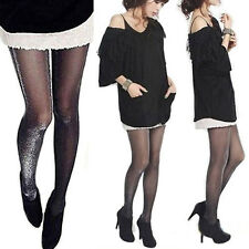 Womens Sexy Fashion Shiny Pantyhose Glitter Stockings Glossy Tights High Quality