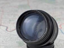 black JUPITER 9 2/85 M39 Leica L39 mount lens 1973 SONNAR