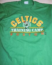 BOSTON CELTICS Training Camp t shirt vtg 90's Salem Sportswear medium