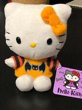 "Hello Kitty Halloween Bat Plush 5"" Tall | 2013 | Nwt"