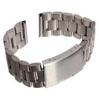 R925 Edelstahl Uhrenarmband 20mm Uhren Armband Uhrenband Metall uhrband Silber