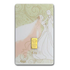 1/2 gram Gold Bar - Istanbul Gold Refinery (Wedding Assay) - SKU #84578