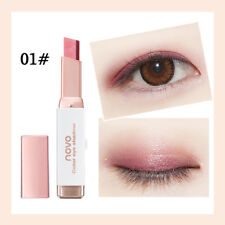 2018 Gradient Two-Color Eye Shadow Stick Shimmer Palette Eye Cream Pen Makeup