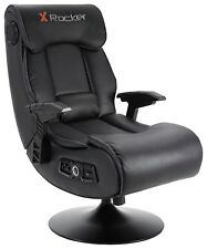 X-Rocker Elite Pro PS4 Xbox One 2.1 Audio Faux Leather Gaming Chair - T78