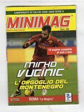 MINIMAG CAMPIONATO 2008-2009 - ROMA N. 206 MIRKO VUCINIC