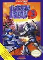 Mega Man 3 -Nintendo NES Game Authentic