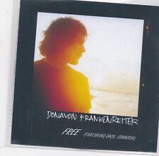 Donavon Frankenreiter-Free promo cd single