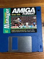 Amiga Format cover disc 69bSuper League Manager Tested Working