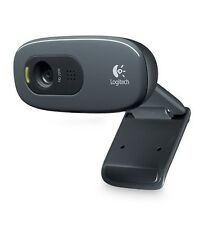 Logitech HD Webcam C270 720p Widescreen Video Calling and Recording