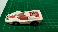 Vintage 1975 Matchbox Rolmatics No 35 White Fandango Sports Car Silver Fan Toy