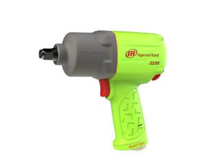 """Ingersoll Rand 2235QTiMAX-G - 1/2"""" Pistol Grip Titanium 'N' Torque - Ultra Duty"""