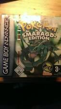Nintendo Gameboy Advance Pokemon Smaragd Sealed Neu/verschweißt