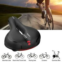 Comfort Wide Bike Saddle Seat Soft Cushion Pad Breathable Bicycle Seat