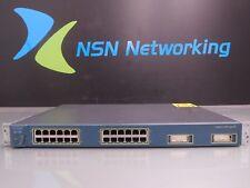 Cisco Catalyst WS-C3524-XL-EN 24-Port 10/100 Switch w/ Rack Ears