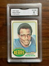 1976 Topps Walter Payton Chicago Bears Rookie Card - 6 Graded!
