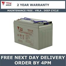 TN Power 12V 125Ah AGM Golf & Mobility Scooter Battery, Replaces YPC100-12