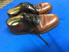 Ll Bean Shoes Size 11 Medium Leather Vibram Soles Used