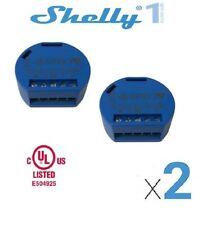 Shelly 1 - 2 sets - Channel Smart Relay Switch Open Source Wi-Fi Home Automation