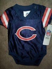 Chicago Bears #00 nfl INFANT BABY NEWBORN CREEPER Jersey 6-12M 6-12 Months