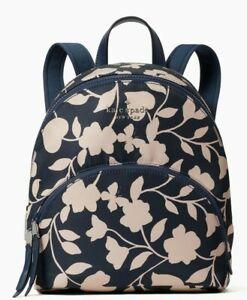 Kate Spade Karissa Nylon Garden Vine Medium Backpack WKRU7053 NWT $279 Retail FS