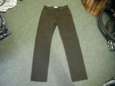 "Blue Harbour Stormwear+ Jeans Waist 32"" Leg 33"" Faded Dark Brown Mens Jeans"
