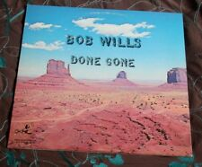 BOB WILLS DONE GONE 1980 US LP KOALA RECORDS KOA 14709