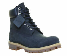 """Timberland 6163A Men's 6"""" Premium Blue Nubuck Leather Boot UK 6 W/L (Wide fit)"""