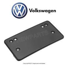 VW Tiguan 09-11 Front License Plate Base Mounting Bracket Holder Trim Genuine