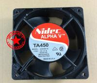 For NIDEC ALPHA V TA450 FAN .26/.21A 115VAC , A30108-10