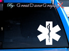 Star of Life EMS Style #2 -Vinyl Decal Sticker -Color Choice -HIGH QUALITY
