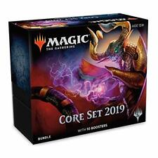Magic: The Gathering Core Set 2019 Bundle with 10 Booster Packs and Accessories