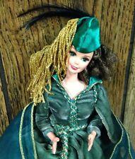 "vintage SCARLETT O'HARA ""GONE WITH THE WIND"" BARBIE DOLL drapery dress MATTEL"