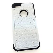 "iPhone 5C Cute Hybrid Diamond Jeweled Tough Armour Back Cover Case 4"" Canada"