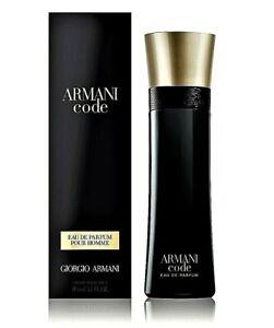Neuheit Armani Code Homme 110 ml Eau de Parfum Neu & Ovp EdP-Spray für Herren
