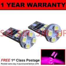 w5w T10 501 Canbus Fehlerfrei pink 8 LED seitenscheinwerfer Standlichtbirnen