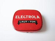 Grammophon NADELDOSE ELECTROLA LAUT TON gramophone needle tin