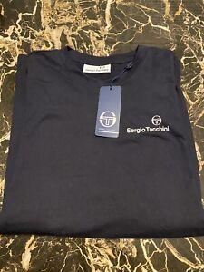 Sergio Tacchini Arnold T-shirt Night Sky Medium  NEW