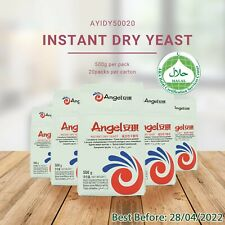 Angel Instant Dry Yeast 500G Baking / Brewing by ANGEL YEAST Co.(THE BEST) HALAL