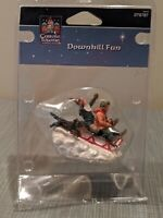 Carole Towne Downhill Fun Christmas Village Sledding Accessory